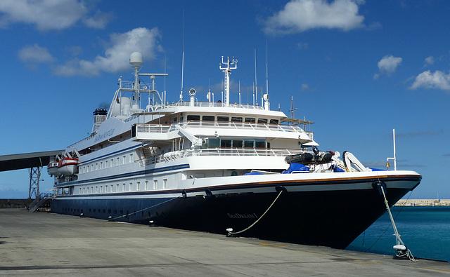 Sea Dream I at Bridgetown (2) - 10 March 2014
