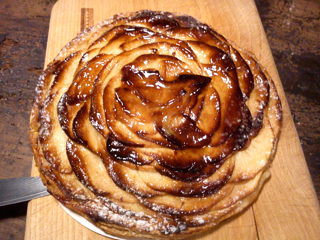 Apple pie from Paris
