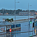 Weymouth at sunrise and high tide at spring tide +1 day