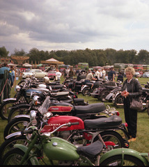 Image9 Pat with Royal Enfield & Triumph Rushmoor 1987