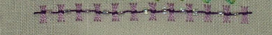 #103 - Beaded Butterfly Chain Stitch