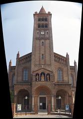 die katholische Propsteikirche St. Peter und Paul