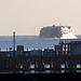 Condor ferry leaving Weymouth