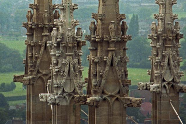 Gargoyles on Pinnacles