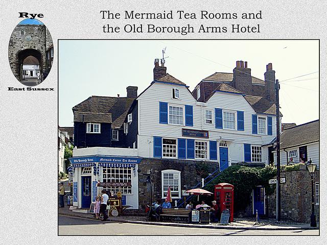 Rye - Mermaid Tea Rooms & Old Borough Arms
