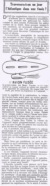 4 octobre 1928 on commence à rêver d'avions à réaction