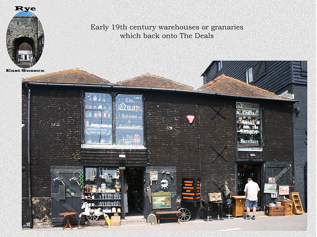Rye - warehouses at The Deals