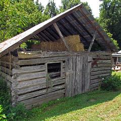 Log Garden Shed
