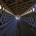 Inside Swann Covered Bridge