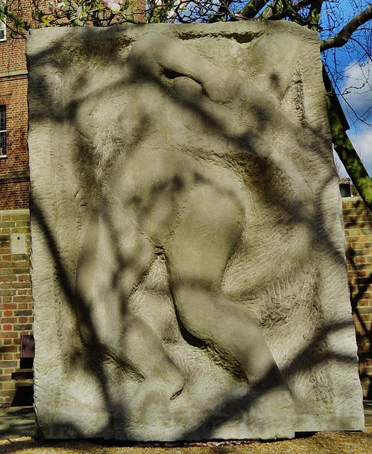 epstein sculpture, chelsea, london