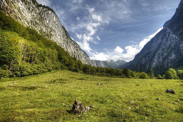 Zwischen Königssee und Obersee