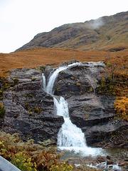 Glen Coe roadside falls