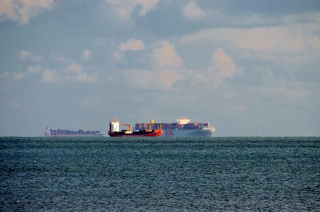 Shipping off of Sandown