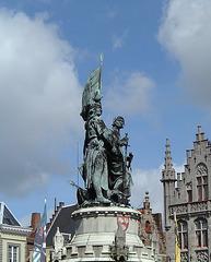 Statue in Brugge