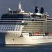 Celebrity Eclipse leaving Port Everglades (1) - 25 January 2014