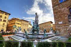 Firenze - Fontana del Nettuno