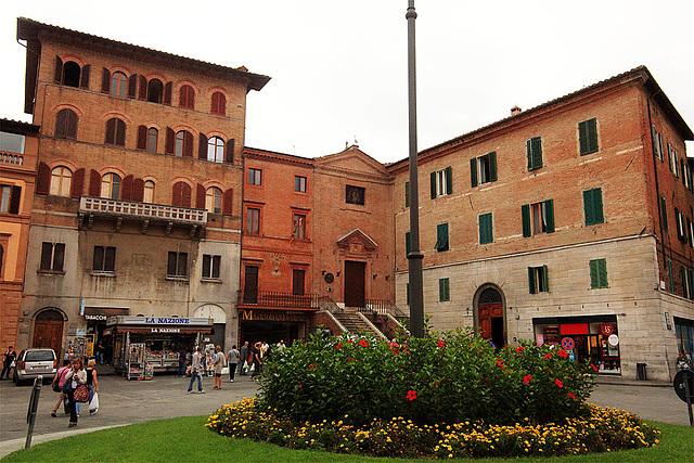 Siena - Piazza Giacomo Matteotti