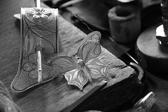 Finished products of a master silversmith