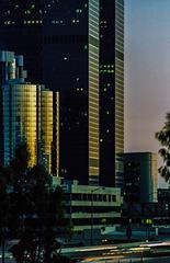 LA Downtown 1980 - Blue Hour I (195°)