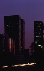 LA Downtown 1980 - Blue Hour II (195°)