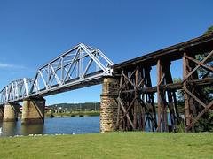 CSX Trestle Bridge (Several X's)