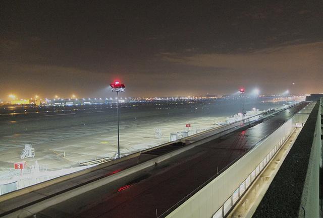 A foggy night at CMH