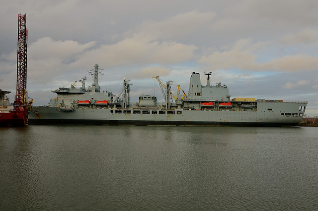 RFA FORT VICTORIA in Cammell Laird Birkenhead
