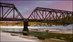 Quesnel River - Railroad Bridge
