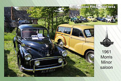 1961 Morris Minor Saloon - Bishopstone Village Fete - 3.5.2014