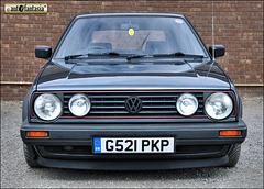 1989 VW Golf Mk2 - G521 PKP