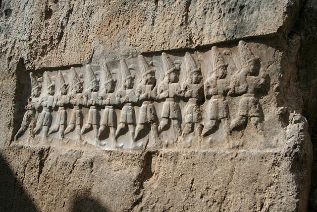 A parade of Hittite gods
