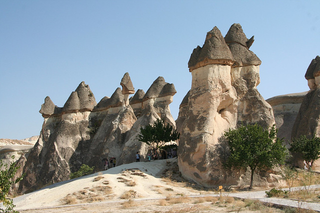 """Known locally as """"fairy chimneys"""""""
