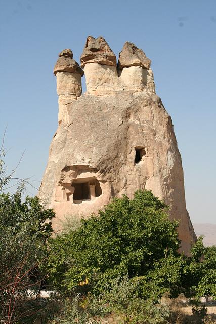 Rock cut dwellings