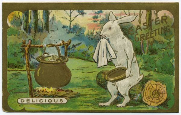 Easter Greeting: Delicious