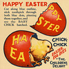 Happy Easter from Chick-Chick Easter Egg Dyes