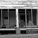 Porch in Black and White