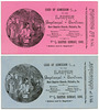 Admission Cards, Easter Sunday,  East Baptist Church, Philadelphia, Pa., April 17, 1892