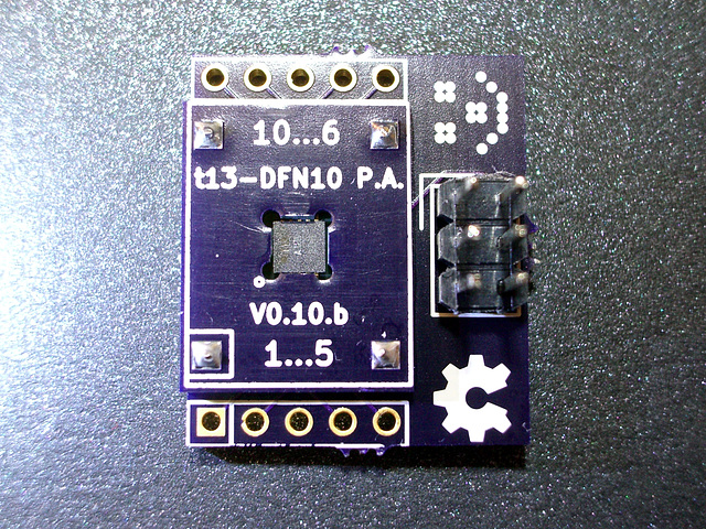 ATtiny13-MMU adapter