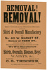 Removal! Removal! C. G. Trimmer, York, Pa.