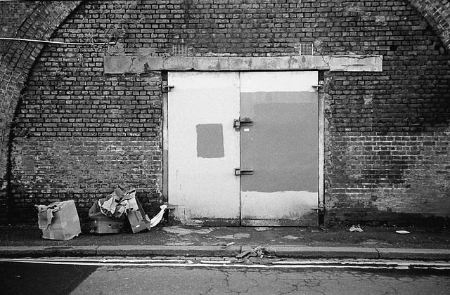 Railway Arch. Brixton Station Road.