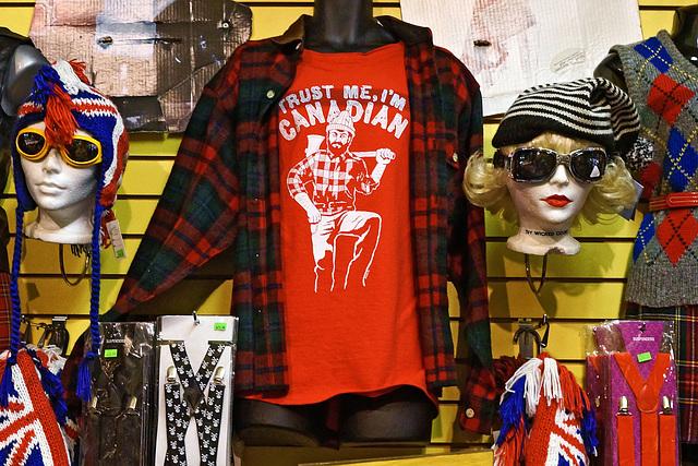 Trust Me, I'm a T-Shirt – Kensington Avenue, Toronto, Ontario