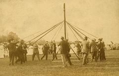 Manning the Maypole