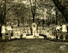 May Queen and Her Court, Bucknell University, May 12, 1934
