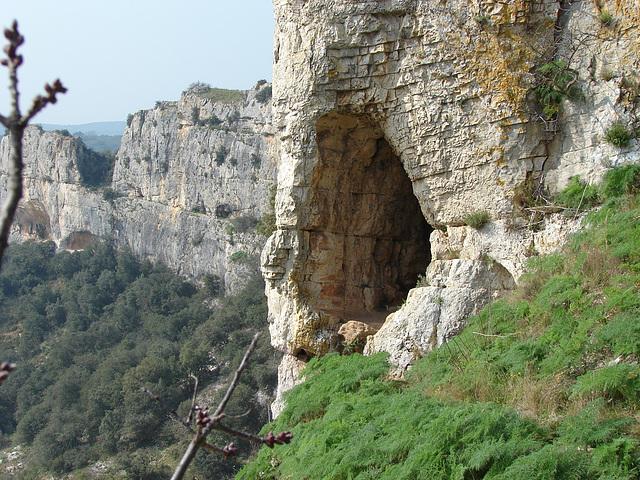 Les Gorges du Gardon -RUSSAN -le Pont St. Nicolas 12 03 2014 024