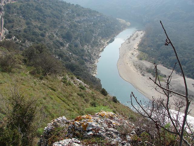 Les Gorges du Gardon -RUSSAN -le Pont St. Nicolas 12 03 2014 027