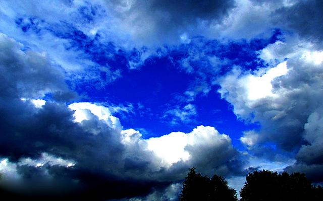 La beauté des nuages...