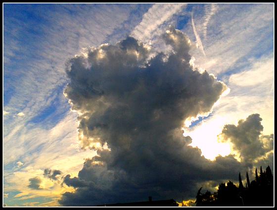 Nubes vespertinas 2