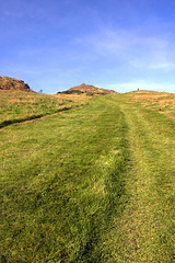 A Path To The Top Of Arthur's Seat