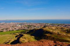 View Of Edinburgh From Arthur's Seat