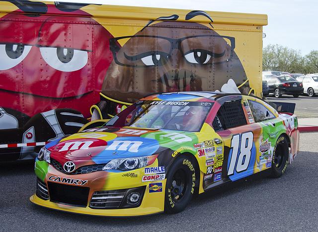 M&M's Race Car
